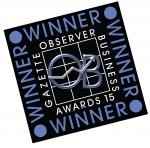 Winner of the Observer Buisness Awards 2015