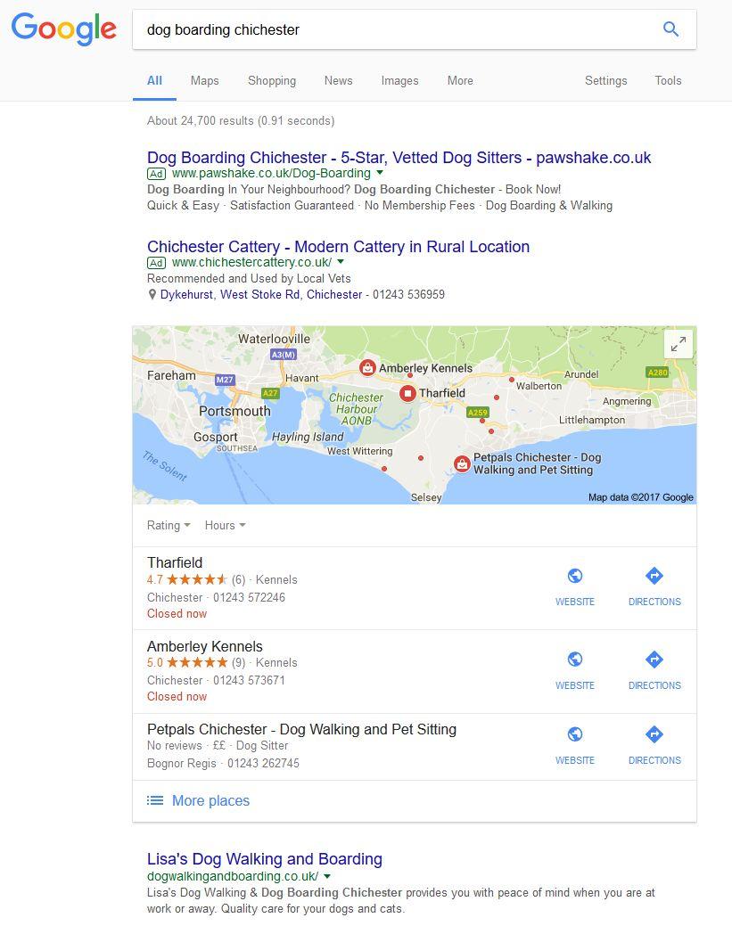dog boarding chichester - Google Search