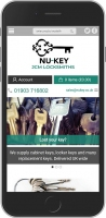 Nukey Website iPhone Access by Design 01243 776399