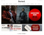 Screenshot of Sorted Magazine, built with Run Your Own Website 01243 776399