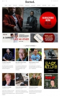 Screenshot of Sorted Magazine, Digital Edition, built with Run Your Own Website 01243 776399