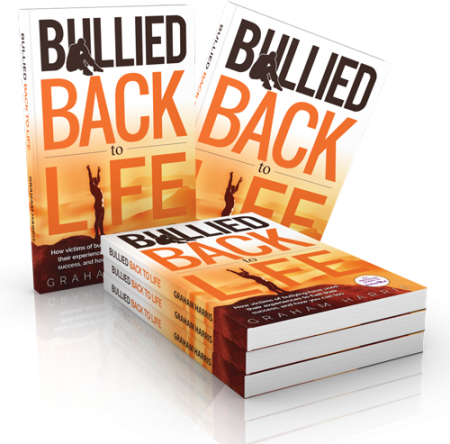 Bullied Back to Life. A book that reaches out.