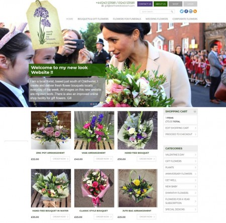 Earth Seed to Bloom launch their new website on Valentine's Day!