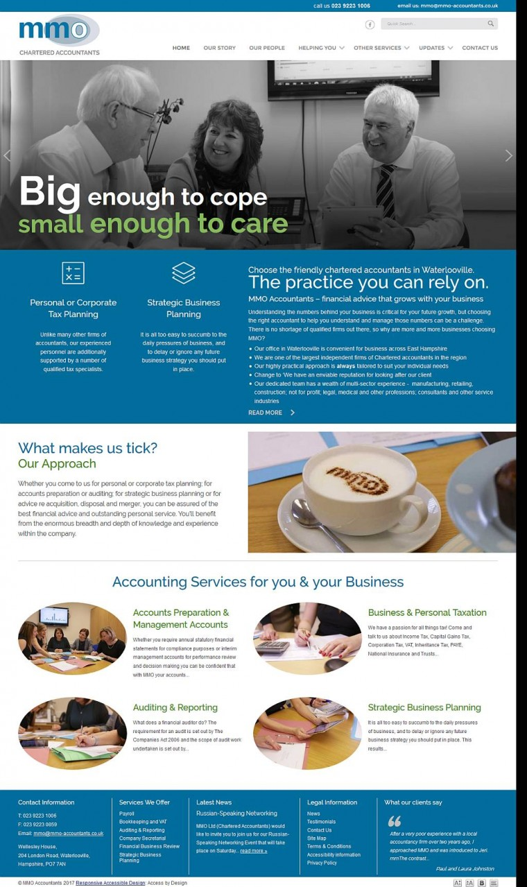 MMO Accountants get a stylish makeover!
