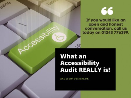 What an Accessibility Audit REALLY is!