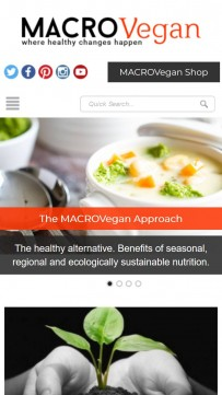 Macrovegan – a lifestyle revolution!