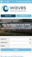 Waves Chalet Rentals have a beautiful bespoke website!