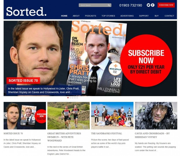 Sorted – a Men's Magazine with a different approach!