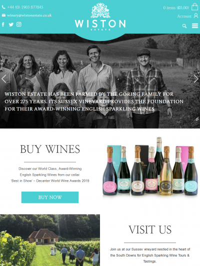 The Wiston Estate has a beautiful new website!