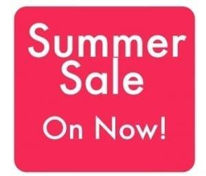 Summer Sale Advert in Pink